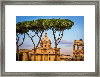The Pines Of Rome Framed Print