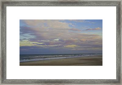 Chiffon Sunset Framed Print