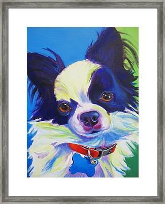 Chihuahua - Esso-gomez Framed Print by Alicia VanNoy Call
