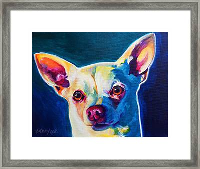 Chihuahua - Coco Framed Print by Alicia VanNoy Call