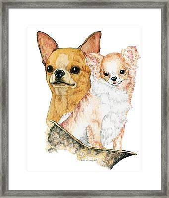 Chihuahuas Framed Print by Kathleen Sepulveda
