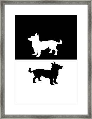 Chihuahuas Framed Print by Mordax Furittus
