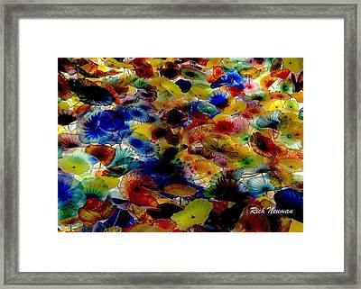 Chihuly Flowers Framed Print