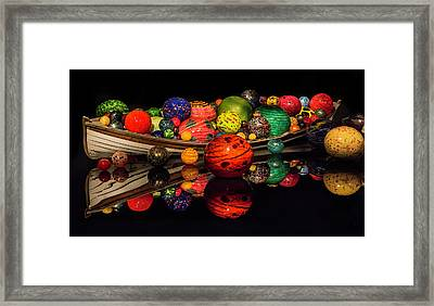 Chihuly Reflection Framed Print