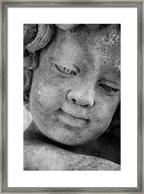 Child Gaze Framed Print
