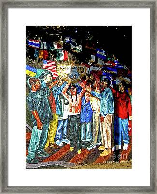 Child Of The People Framed Print by Michael Durst