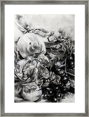Childandmusic Framed Print by Roa Malubay