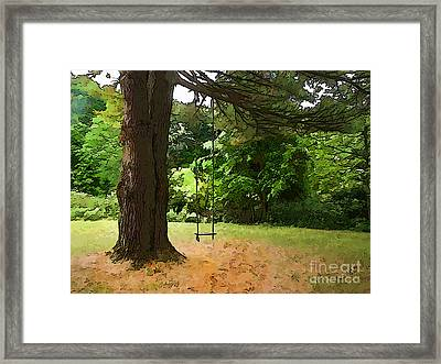Childhood Framed Print by Betsy Zimmerli