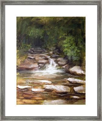 Cooling Creek Framed Print