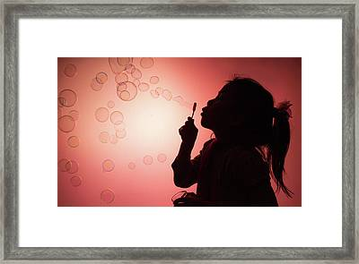 Framed Print featuring the photograph Childhood Days by William Lee