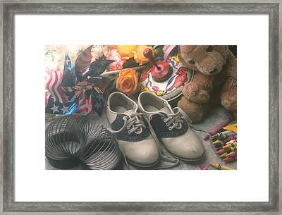Childhood Memories Framed Print by Garry Gay