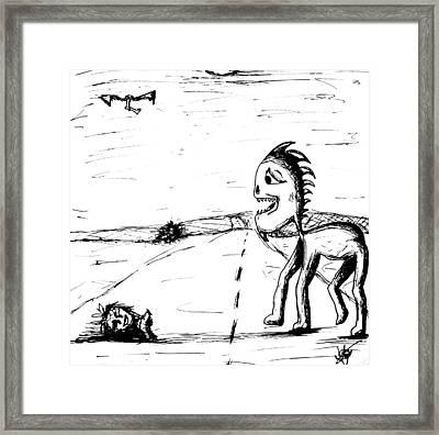 Childlike Innocence Framed Print