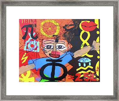 Children Of Ascension Framed Print