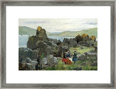 Children Of David Mcbeath Of Nunlands Framed Print