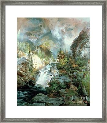 Children Of The Mountain Framed Print