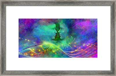 Children Of The Rainbow Framed Print by Michael Durst