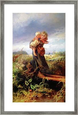 Children Of Yesterday Framed Print