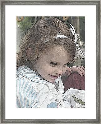 Children Series Framed Print by Ginger Geftakys