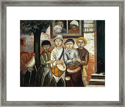 Children's Band Framed Print