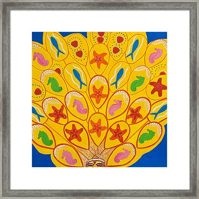 Children's Carnival - New Piece Framed Print by Sula Chance