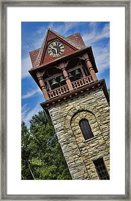 Childrens Memorial Tower - Stockbridge Framed Print by Stephen Stookey