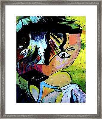 Child's Night Mare Framed Print