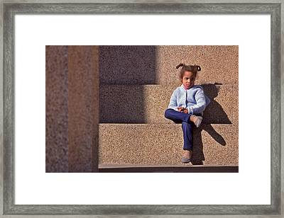 Child's Thought Framed Print by Randy Muir