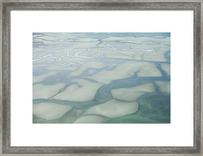 Chilkat River Patterns Framed Print
