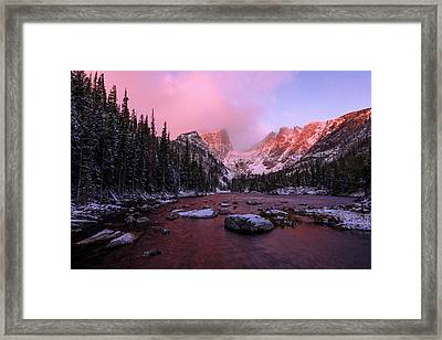 Chill Framed Print by Chad Dutson