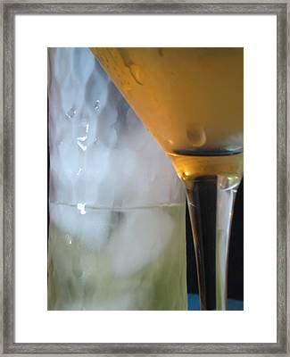 Chill Framed Print by Kim Pascu