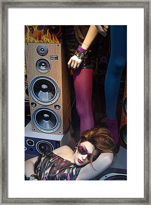 Chilled Man Really Chilled Framed Print by Jez C Self