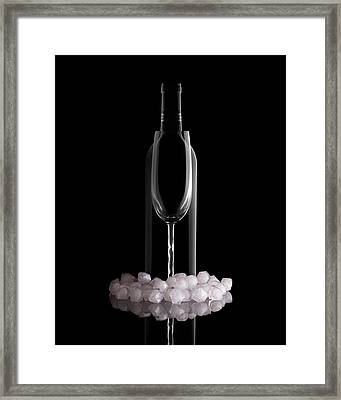 Chilled Wine Framed Print by Tom Mc Nemar