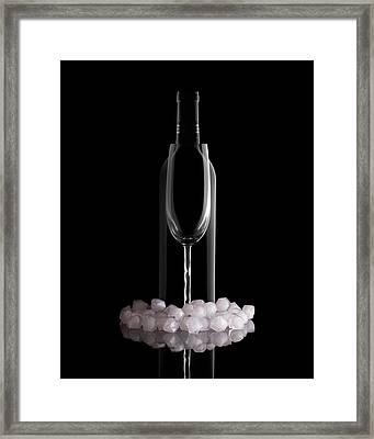 Chilled Wine Framed Print