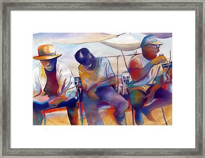Chillin' Framed Print