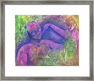 Chillin Framed Print