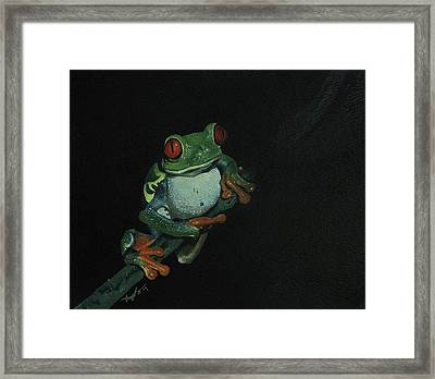 Chilling Framed Print by Richard Ong