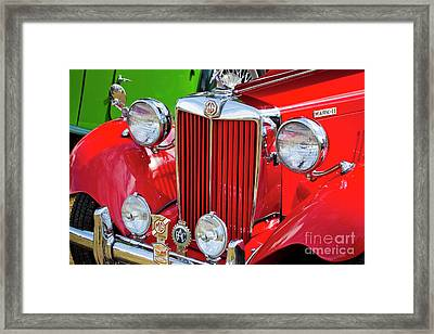 Framed Print featuring the photograph Chillipepper 1952 Mg by Chris Dutton