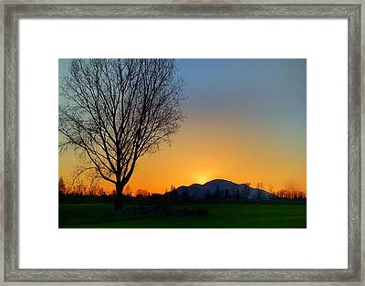 Chilliwack, British Columbia Framed Print