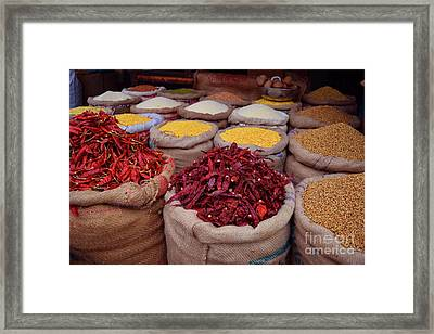 Chilliy Peppers Framed Print