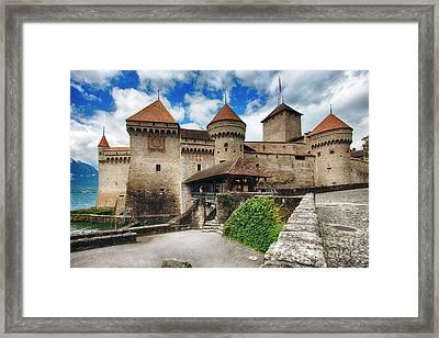 Chillon Castle Entrance Framed Print