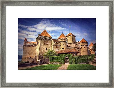 Chillon Castle Montreux Switzerland  Framed Print