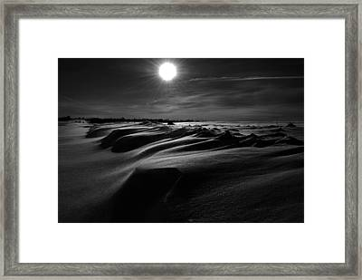 Chills Of Comfort Framed Print by Empty Wall
