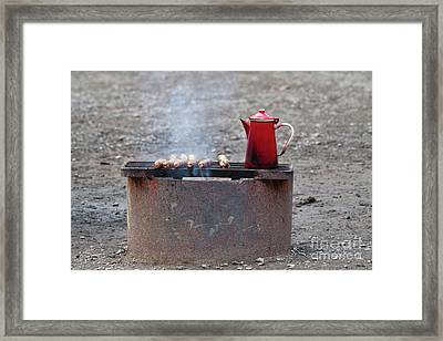 Chilly Morning Framed Print