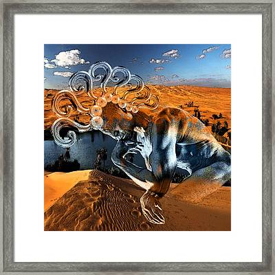 Chimera  Framed Print by Marian Voicu