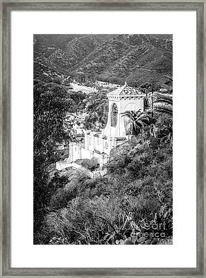 Chimes Bell Tower On Catalina Island Framed Print by Paul Velgos