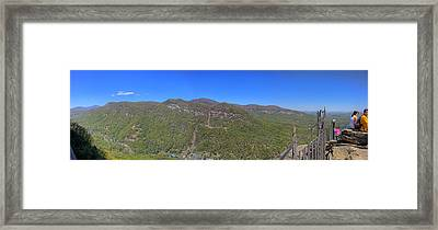 Chimney Mountain Framed Print