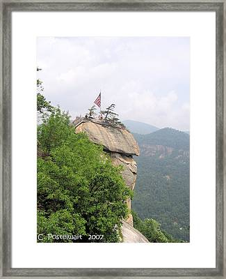Chimney Rock 2 Framed Print