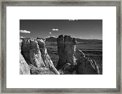 Chimney Rock And Cerro Pedernal 3 Framed Print
