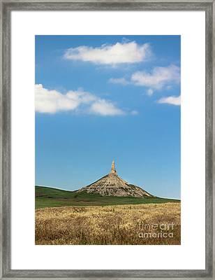 Chimney Rock Nebraska Framed Print