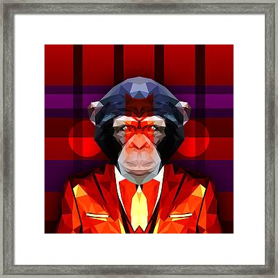 Chimpanzee 2 Framed Print
